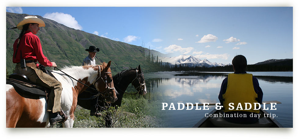 Yukon Horseback Riding near Emerald Lake